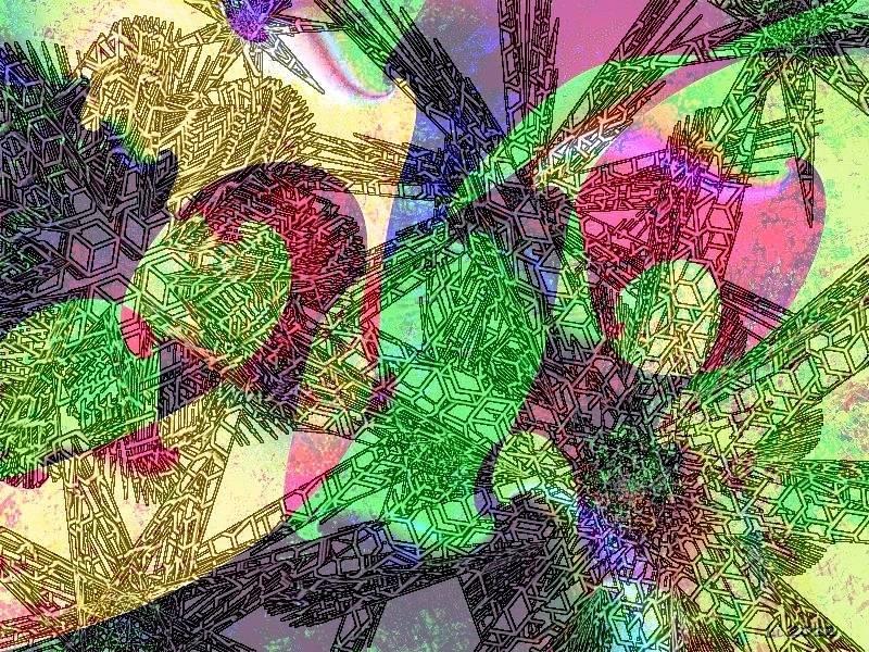City Map Ice Cube 01 b a Grafik