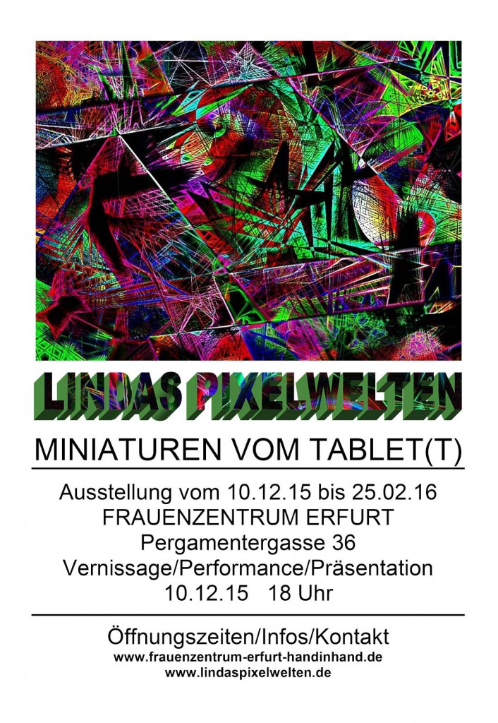 Miniaturen vom Tablet